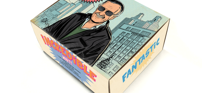 The Stan Lee Box January 2018 Theme Spoilers + Coupon!