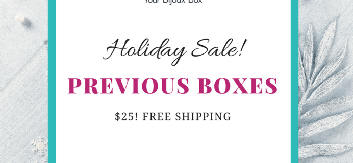 Your Bijoux Box Holiday Deal: Past Boxes $10 Off – $25 Shipped!