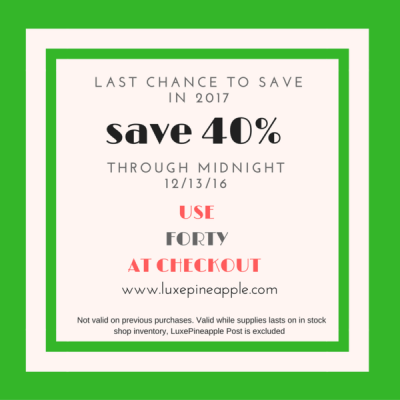 LuxePineapple Home Box Flash Sale: 40% Off – Extended!