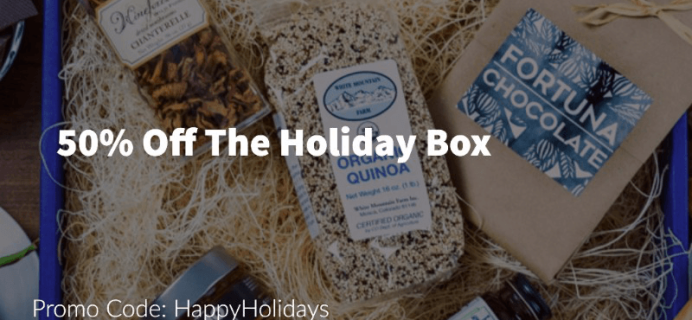 Save 50% on The Fare Trade's Holiday Box!