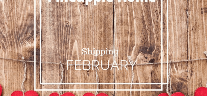 LuxePineapple Home Box February 2017 Spoiler + 40% Off Coupon!