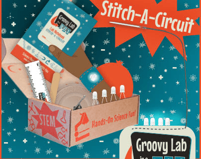 December 2016 Groovy Lab In A Box Theme: Moon Dance + Coupon