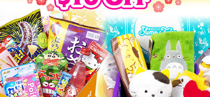 Tokyo Treat & Yume Twins Coupon: $10 Off First Box!