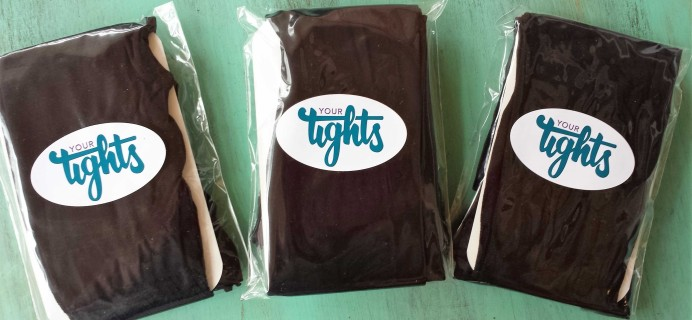 Your Tights Subscription Box Review – December 2016