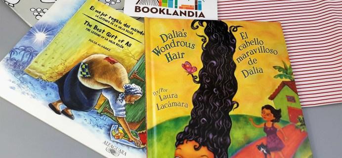 Booklandia Bilingual Picture Books Subscription Box Review – January 2017
