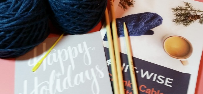 Knit-Wise Subscription Box Review – January 2017