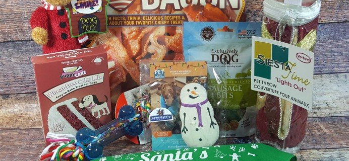 Pet Treater Dog Subscription Box Review + Coupon – December 2016