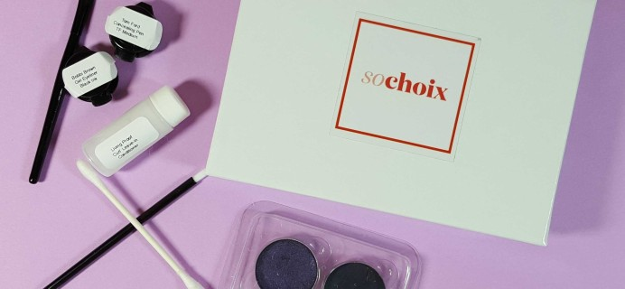 So Choix Sample Subscription Box Review – December 2016