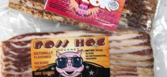 Bacon Freak January 2017 Subscription Box Review