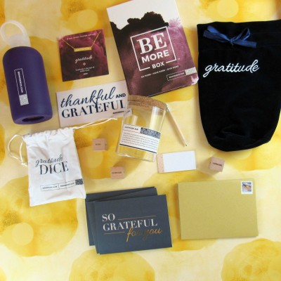Be More Box January 2017 Subscription Box Review