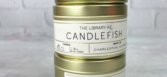 The Library Box by Candlefish January 2017 Subscription Box Review