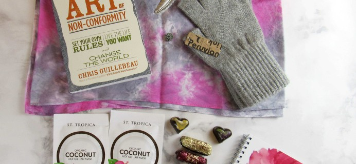 Covet Crate January 2017 Subscription Box Review + Coupon