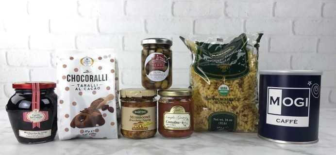 Eattiamo January 2017 Subscription Box Review + Coupon!