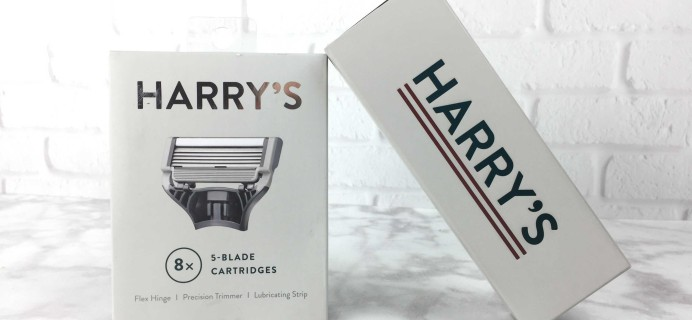 Harry's Men's Razor Blades Subscription Pack Review + Free Handle!