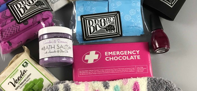 Broad Box Subscription Box Review + Coupon – January 2017