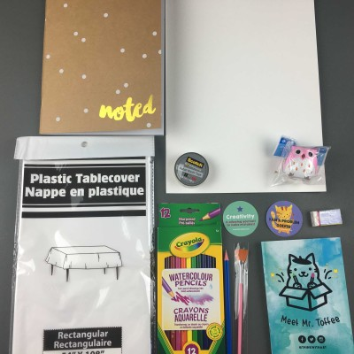 Think With Art January 2017 Subscription Box Review + Coupon!