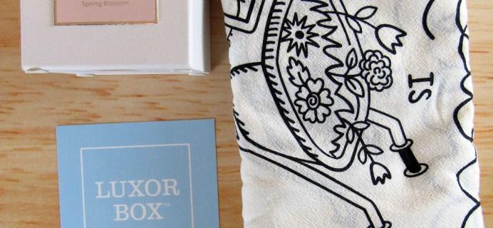 Luxor Box Petite Subscription Box Review – January 2017