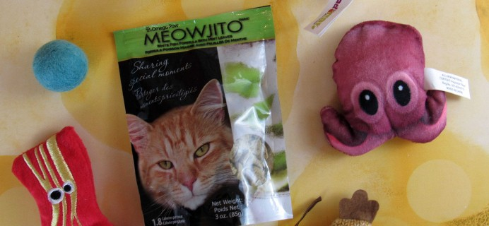 January 2017 Meowbox Subscription Box Review & Coupon