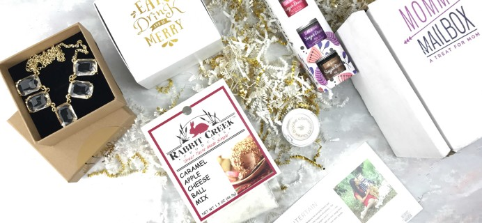 January 2017 Mommy Mailbox Subscription Box Review & Coupon
