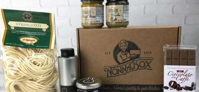 Nonna Box January 2017 Subscription Box Review + Coupon