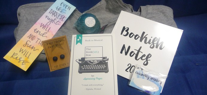 The Bookish Box February 2017 Subscription Box Review + Coupon
