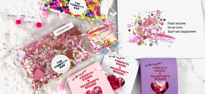 Confetti of the Month Club by Confetti Bar February 2017 Subscription Box Review