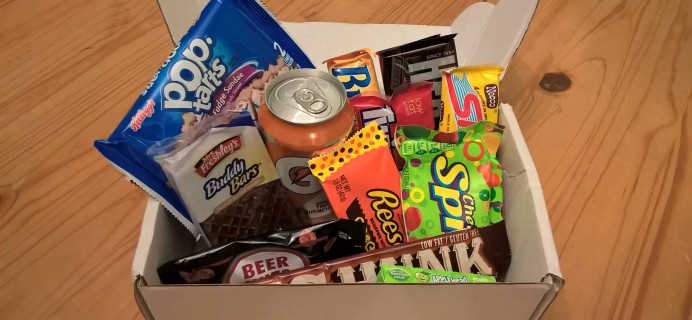 Sweetly Subscription Box Review + Coupon – January 2017