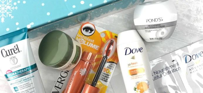Walmart Beauty Box Winter 2016 Subscription Box Review