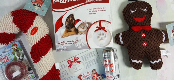 PetGiftBox Dog Subscription Box Review + 50% Off Coupon – December 2016