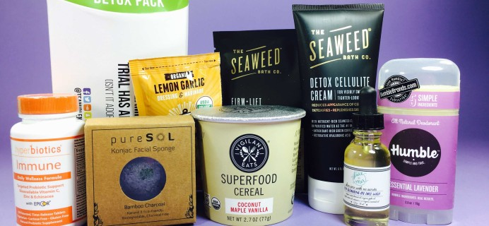 Wellness Tribe Subscription Box Review + Coupon – January 2017
