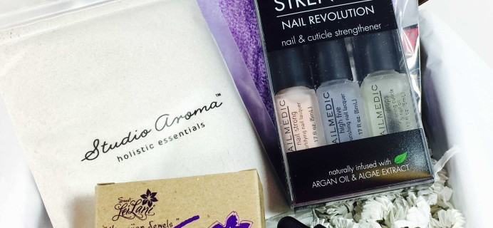 S&G Beauty Box January 2017 Subscription Box Review + Coupon