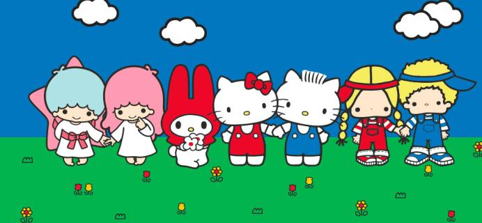 Sanrio Small Gift Crate March 2017 Theme Spoilers!