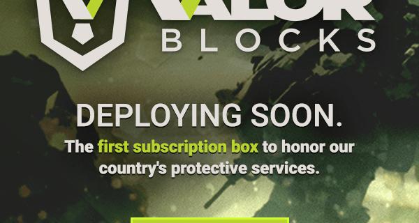 New Subscription Box from Nerd Block Coming Soon: Valor Blocks!