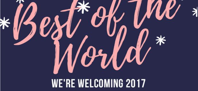 Yummy Bazaar January 2017 Full Experience Box Spoilers!