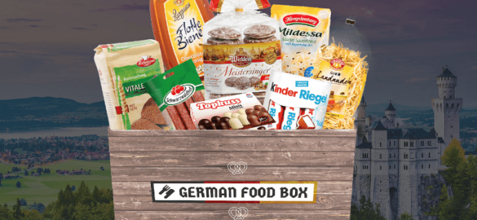 German Food Box Cyber Monday 2019 Coupon: Save 25%!