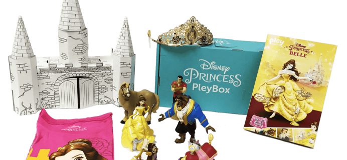 New Disney Princess PleyBox: Less Than 100 Boxes Left!