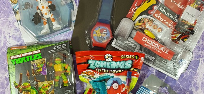 Toy Box Monthly January 2017 Subscription Box Review
