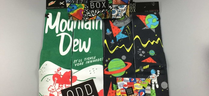 The Odd Box Sox Box February 2017 Subscription Box Review