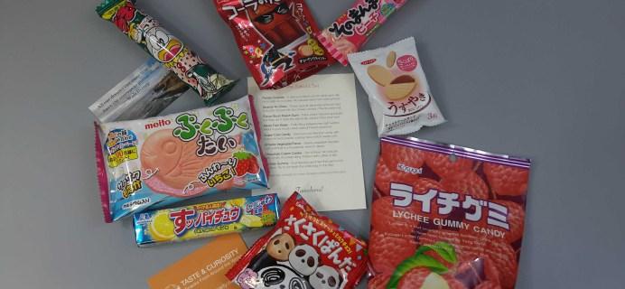Taste & Curiosity January 2017 Subscription Box Review + Coupon – Japan Box