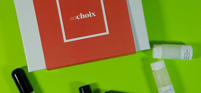 So Choix Sample Subscription Box Review – January 2017