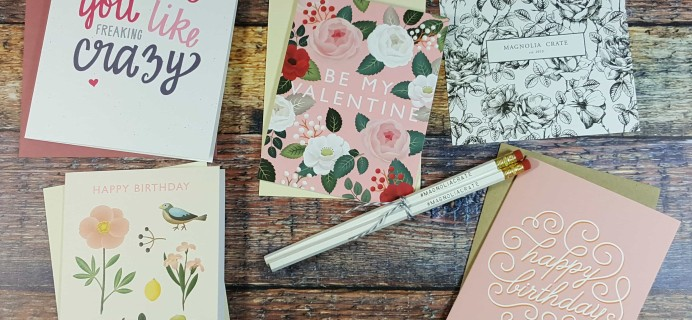 Magnolia Crate Subscription Box Review  & Coupon – February 2017