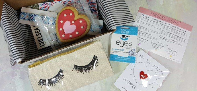 SinglesSwag Subscription Box Review & Coupon – February 2017