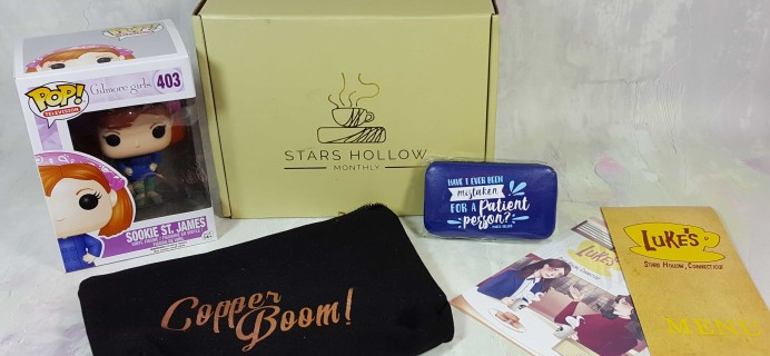 Stars Hollow Monthly Subscription Box Review – January 2017