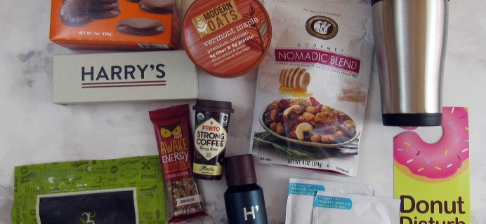 CampusCube College Care Package January 2017 Subscription Box Review + Coupon – Guys!
