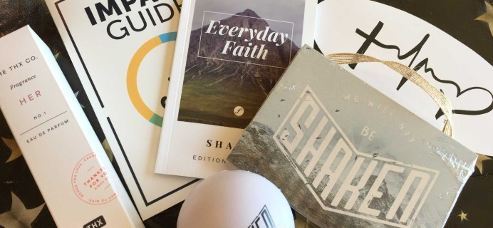 FaithBox February 2017 Subscription Box Review + Coupon