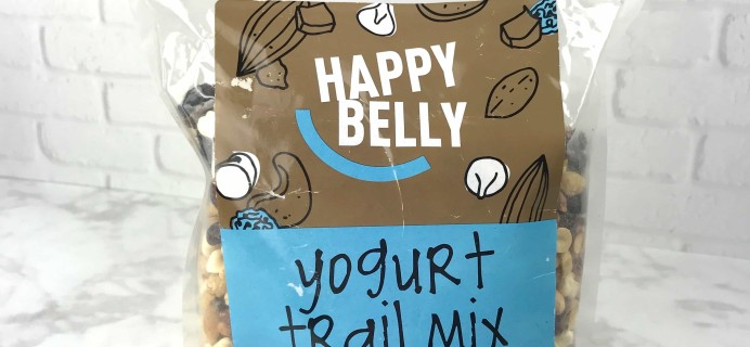 Happy Belly Snacks Review – Yogurt Trail Mix
