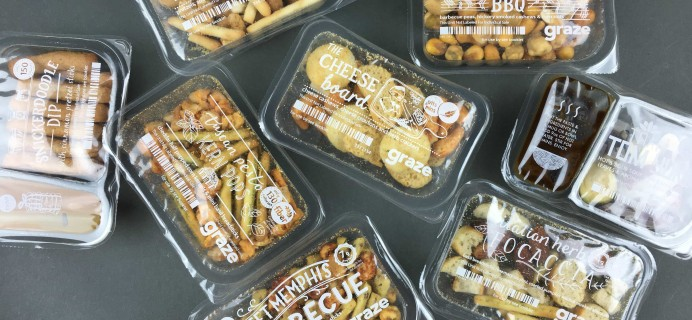Graze Sugar Count Review & Free Box Coupon – March 2017