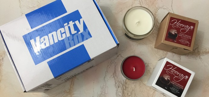 Vancity Box February 2017 Subscription Box Review + Coupon
