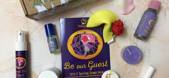 Fortune Cookie Soap Spring 2017 Subscription Box Review