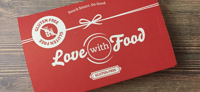 Love With Food Gluten-Free February 2017 Subscription Box Review + Coupon